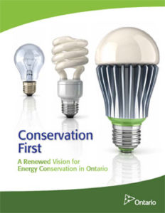 Conservation First report cover