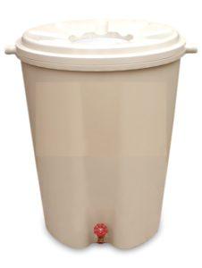 A rain barrel
