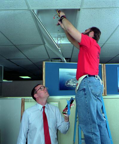 saving energy with efficient lighting
