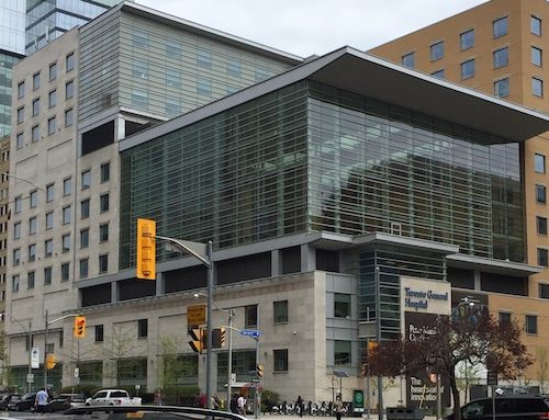Energy management plans for University Health Network (UHN) hospitals