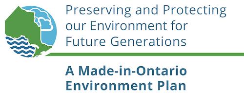 Ontario's new environment plan